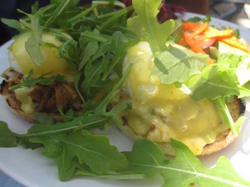 royal phoenix eggs benedict
