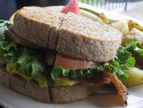 homestyle breakfast sandwich