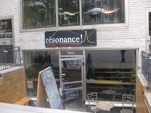 resonance brunch exterior