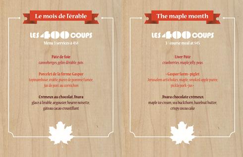 400 coups montreal sugar shack 2