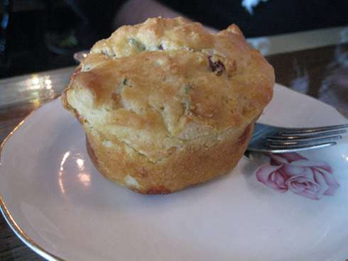 cardinal tea room muffin