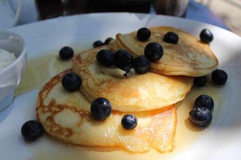 brasserie bernard blueberry pancakes