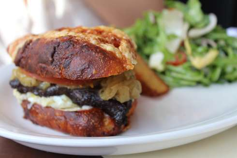 brasserie bernard breakfast sandwich