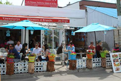 stellina jean talon market brunch terrace