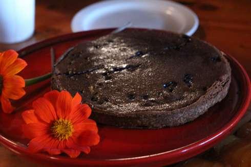 chocolate blueberry pie at cabane a sucre pied de cochon apple season 2014