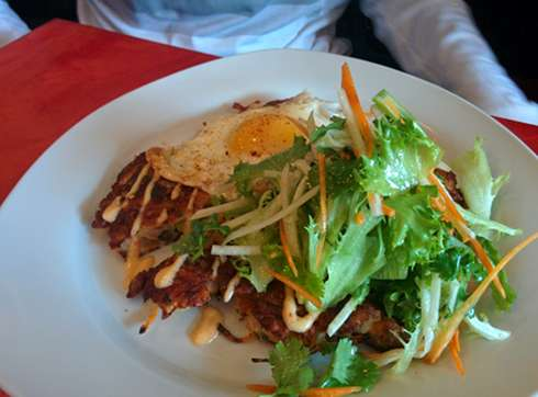 la recolte montreal brunch korean crepe