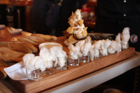 cabane a sucre pied de cochon cotton candy shooters