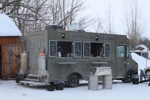 cabane a sucre pied de cochon food truck