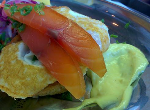 Hof kelsten montreal Salmon croquettes
